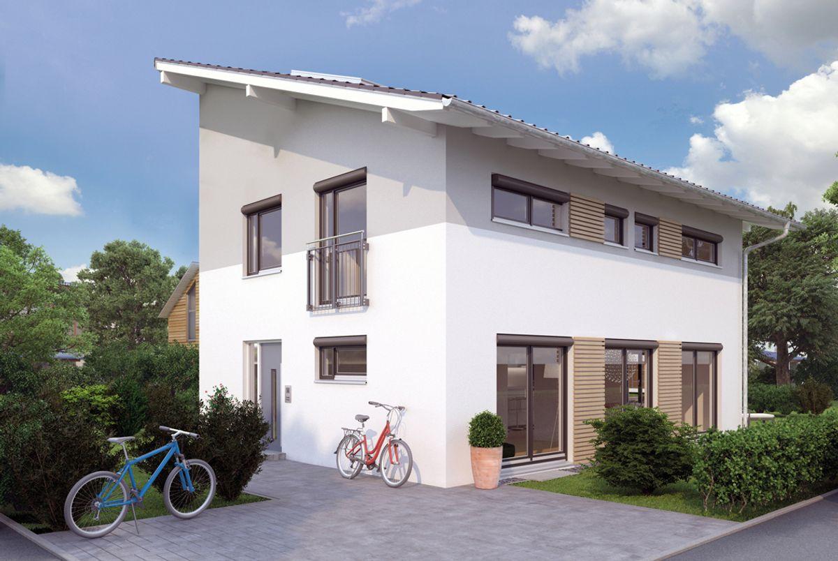 Moderne häuser pultdach  Modern: Massiv-, Fertighaus oder Liapor-Haus