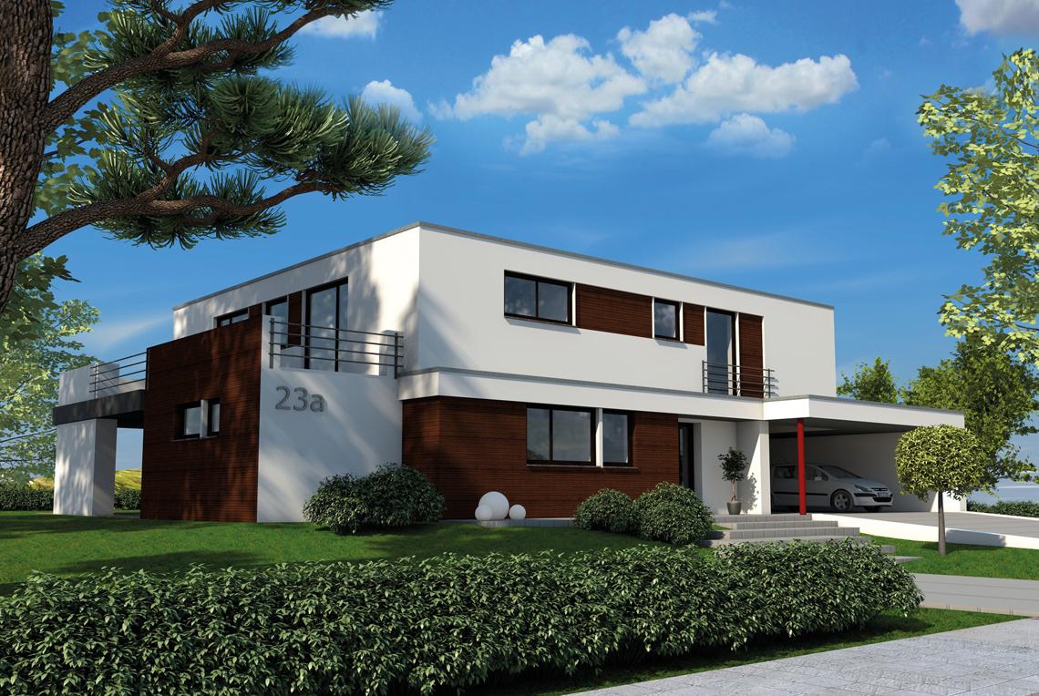 haus flachdach with haus flachdach im taunus with haus. Black Bedroom Furniture Sets. Home Design Ideas